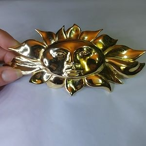 Vintage sun belt buckle by Accessocraft, N.Y.C.